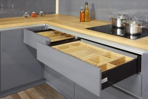 Praktyczne rozwiązania w meblach kuchennych