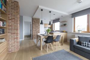Jak urządzić otwartą przestrzeń dzienną - porada architekta