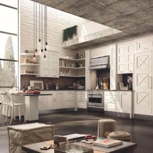 W wysokich wnętrzach doskonale prezentuje się kuchnia w stylu loft. Fot. Marchi