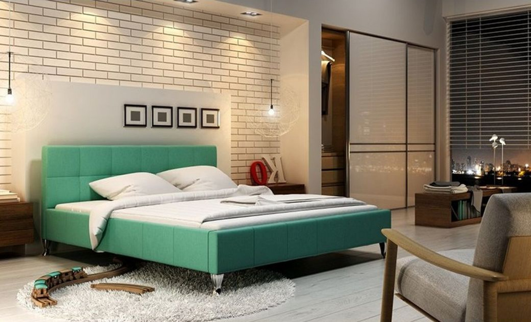 Łóżko Futura firmy New Design. Fot. New Design