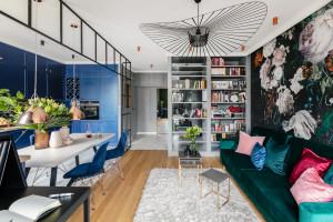 Wnętrze skrojone na miarę - zobacz inspirującą aranżację warszawskiego mieszkania