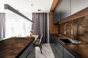 Cienkie blaty kuchenne - postaw na materiały nowej generacji