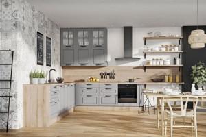 Zabudowa kuchenna do sufitu - nowe pomysły aranżacyjne