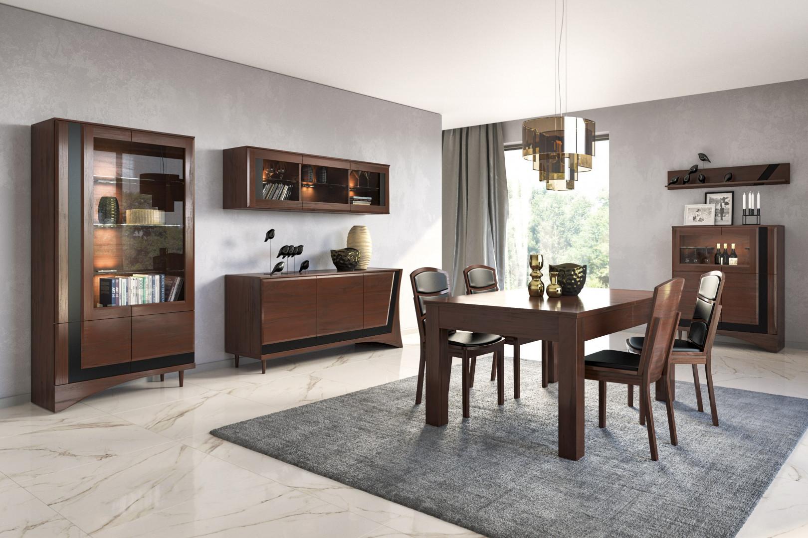 """Stół z kolekcji """"Korso"""" firmy Mebin. Fot. Mebin"""