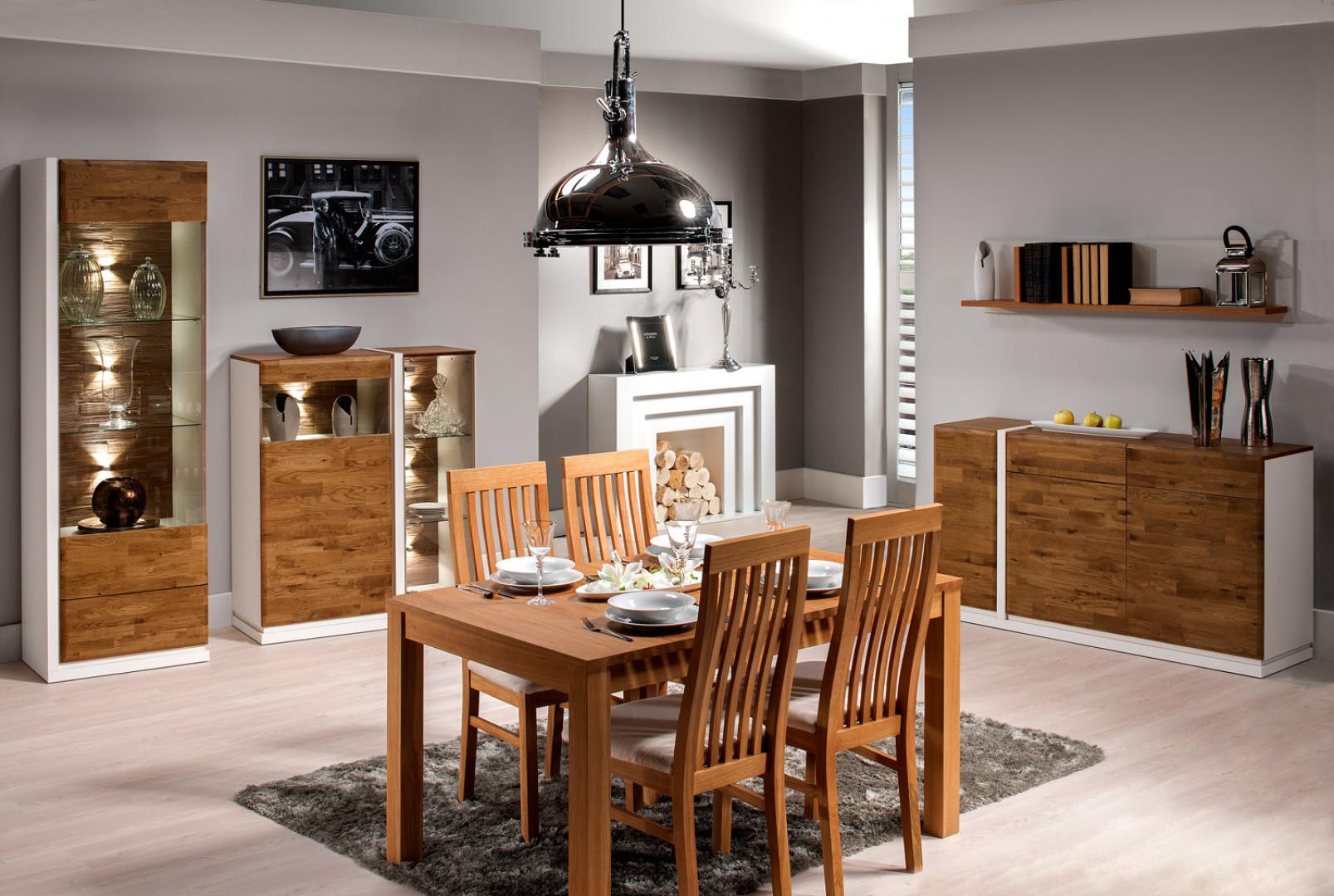"""Stół z kolekcji """"Siena"""" firmy Taranko. Fot. Taranko"""