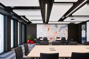 Industrialne biuro - zobaczcie wnętrza zaprojektowane dla... programistów