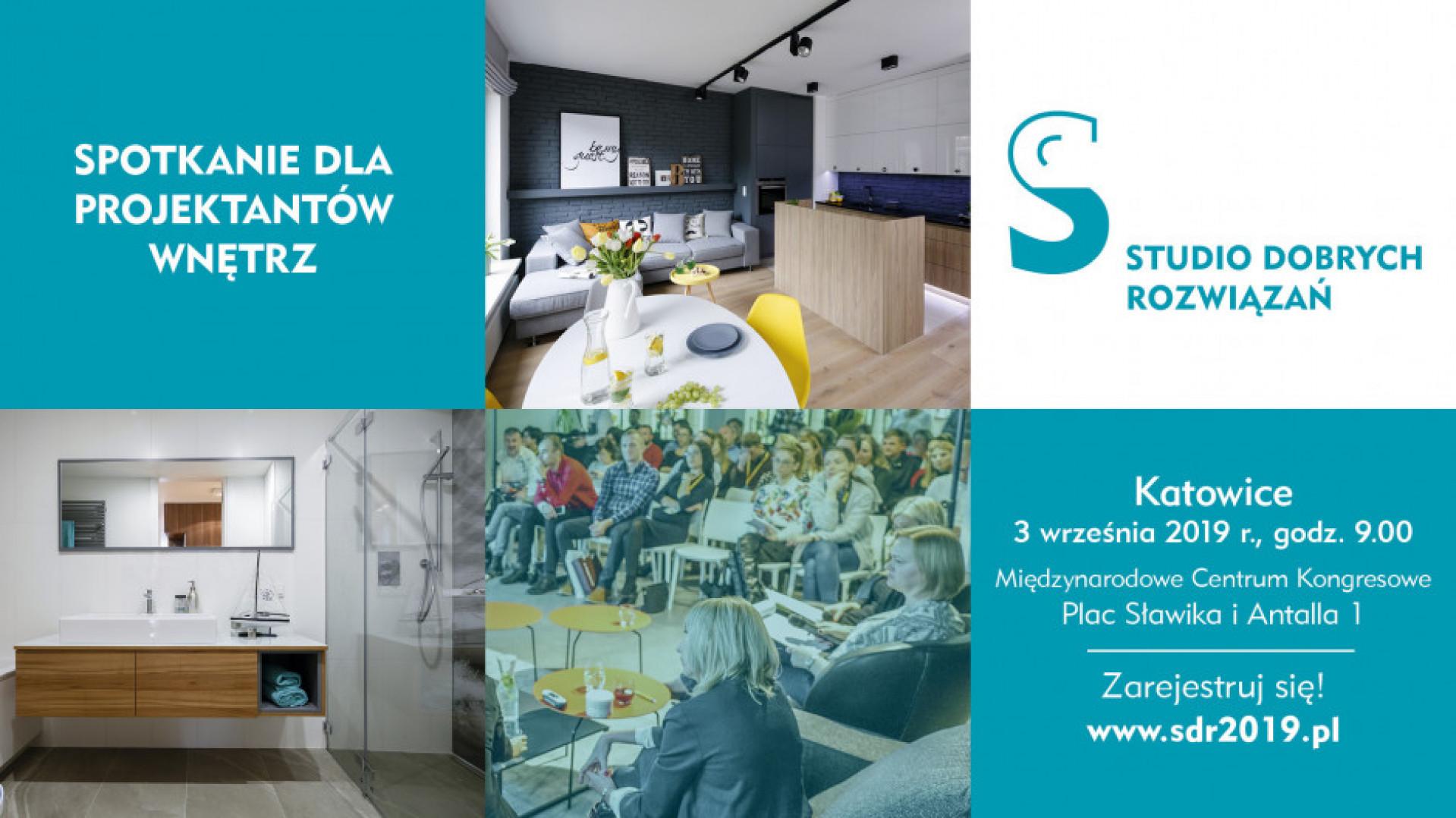 Studio Dobrych Rozwiązań w Katowicach - zapraszamy 3 września 2019.