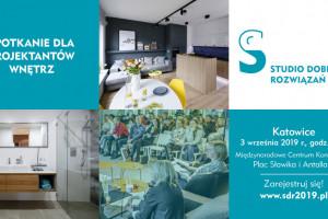 Studio Dobrych Rozwiązań w Katowicach - zapraszamy 3 września!