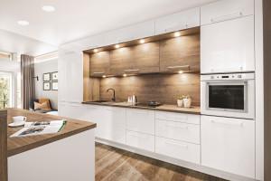 Trendy w meblarstwie: zabudowa kuchenna do sufitu
