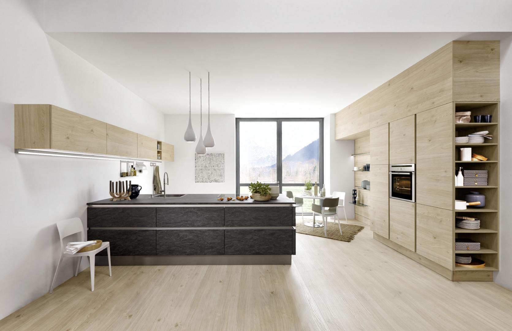 Nowoczesna, minimalistyczna kuchnia. Fot. Nolte
