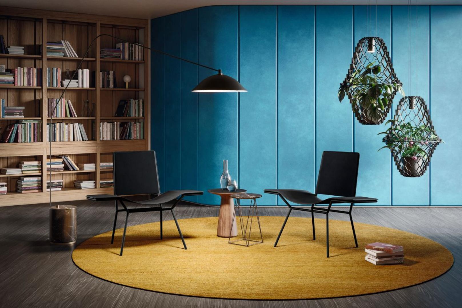 Krzesła Aisuu firmy Walter Knoll zostały zainspirowane modelem z lat 50. XX, wyrosłym z idei projektowych Bauhausu. Projekt: Ginger Zalaba. Fot. Walter Knoll