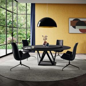 Wskrzeszone przez firmę Walter Knoll, kultowe fotele FK zostały zaprojektowane w końcu lat 60. XX wieku przez Prebena Fabriciusa i Jørgena Kastholma. Fot. Walter Knoll