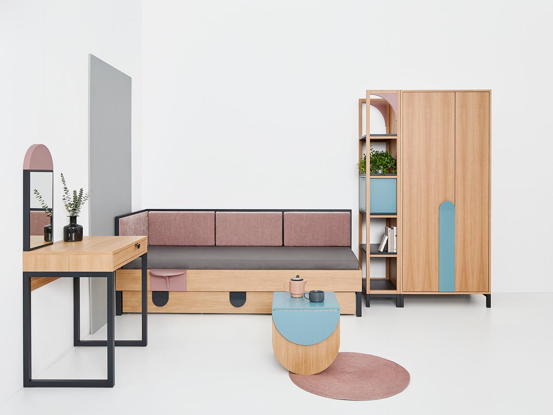 Kolekcja Mod firmy Pagok-Meble (marka Microom). Projekt: Dorota Terlecka. Fot. M. Swoboda