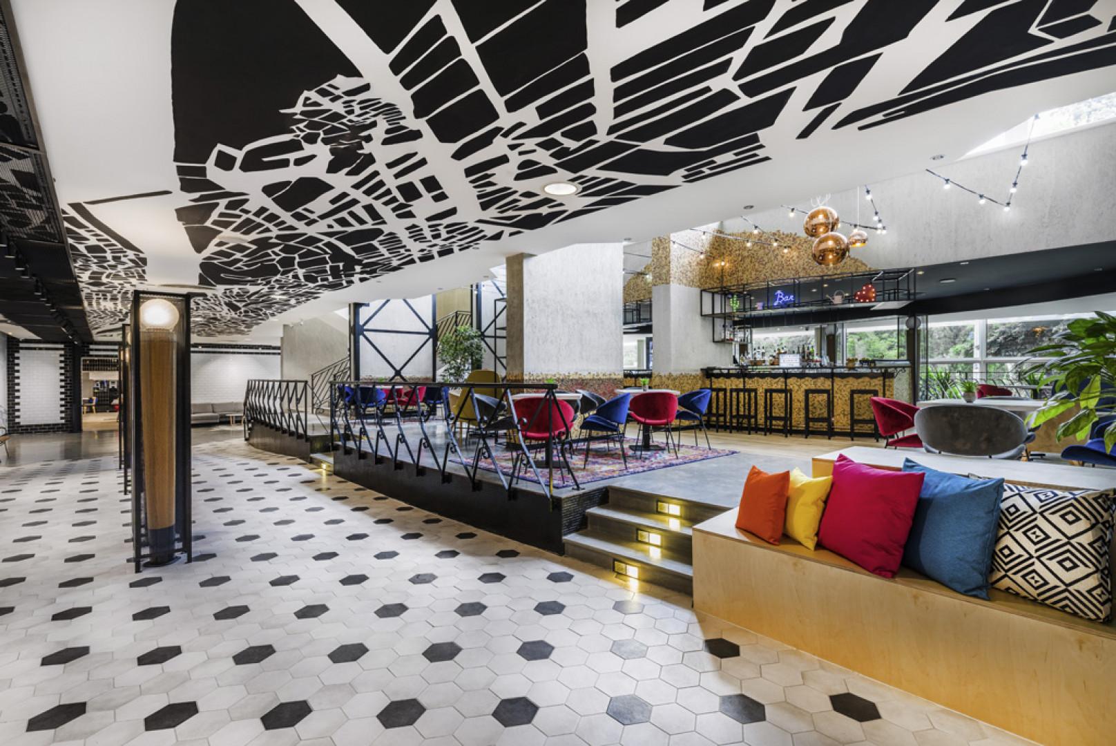 Hotel Mercure, Budapeszt. Fot. Mat. pracowni Tremend