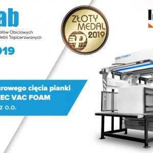 Maszyna do konturowego cięcia pianki PUR i owaty InfoTEC VAC FOAM