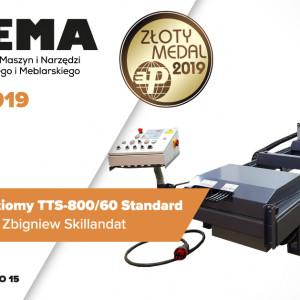 Trak taśmowy poziomy TTS-800/60 Standard