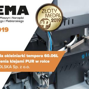 System glueBox dla okleiniarki Tempora 60.06L FORMAT-4 do klejenia klejami PUR w rolce