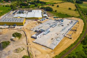 Trwa rozbudowa zakładu firmy Meble Okmed Demko w Braniewie