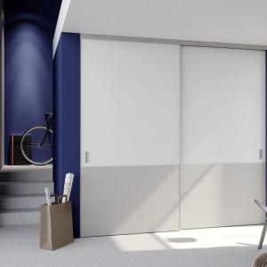 Szafa z drzwiami przesuwnymi S8000 firmy Raumplus. Fot. Raumplus