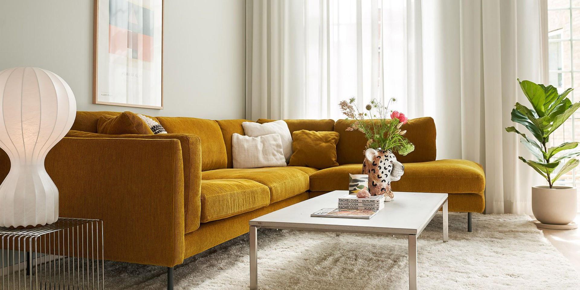 Sofa Sigge firmy Sits. Projekt: Steven Schilte. Fot. Sits
