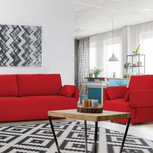 Asti Plus - zestaw sofa + fotel. Fot. Meblomak