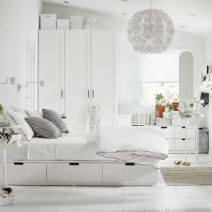 Sypialnia marki IKEA. Fot. IKEA