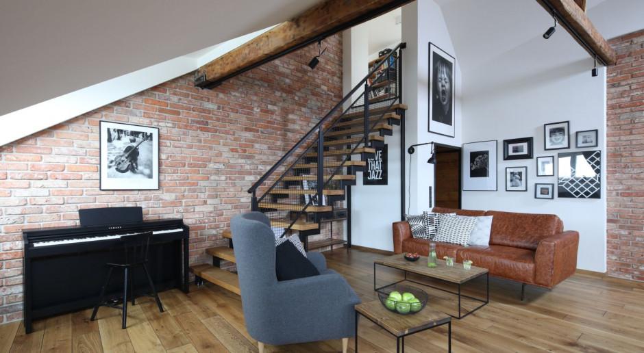 Styl loftowy we wnętrzach najlepszych polskich architektów