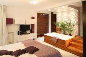 Sypialnia z... wanną - zobacz niezwykłe wnętrza