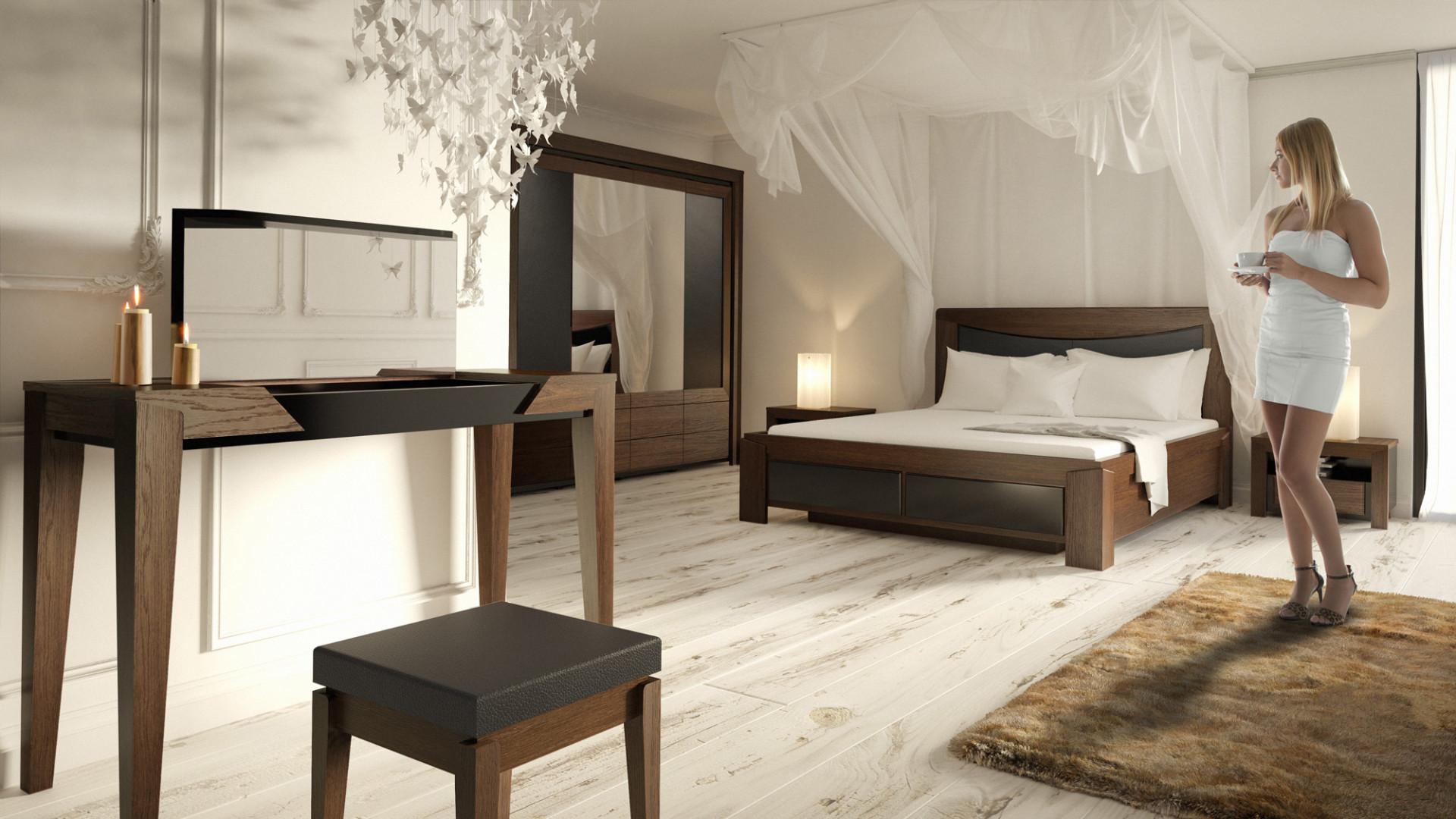 Kolekcja do sypialni Sempre. Fot. Mebin