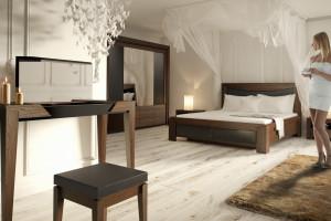 Łóżko z drewna – solidna podstawa sypialni