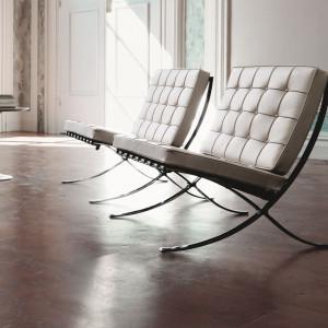 Barcelona Chair. Fot. Walter Knoll