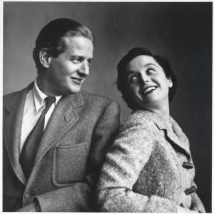 Hans i Florence Knoll. Fot. Knoll/Aqina
