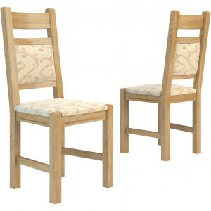 Tapicerowane krzesła Corino. Fot. Mebin