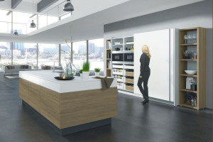 Kuchnia za drzwiami - sprawdzony sposób na porządek