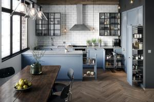 Praktyczne rozwiązania do kuchennych wysokich szafek