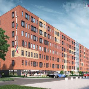Tak będzie wyglądał akademik LivinnX w Krakowie. Fot. IKEA