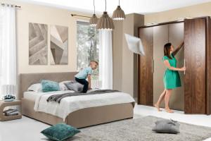 Szafy w sypialni - modne i wygodne rozwiązania
