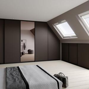 Szafy z drzwiami przesuwnymi można dopasować do wymogów zindywidualizowanego wnętrza. Fot. Raumplus