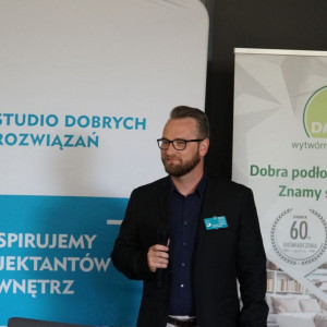 Studio Dobrych Rozwiązań w Łodzi: Tomasz Wrona, Cersanit.
