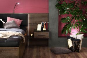 Szafki nocne, toaletki, komody - propozycje nie tylko do małej sypialni