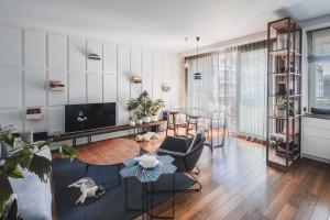 Przyjazne oblicze minimalizmu – wnętrze na warszawskim Żoliborzu
