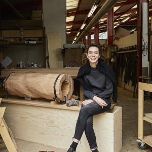 Marlène Huissoud, projektantka. Fot. Petr Krejci