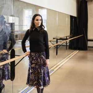 "Zespół: Tamara Rojo, dyrektor artystyczna English National Ballet i projektant Martino Gamper. Projekt: ""Musical Shelf"