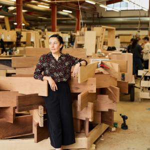 "Zespół: Sir John Sorrell, dyrektor Festiwalu Designu w Londynie i projektantka Juliet Quintero (Dallas-Pierce-Quintero). Projekt: ""The Nest"
