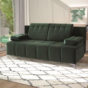 """Sofa """"Sinus"""" (Libro) została zaprojektowana specjalnie z myślą o niewielkich wnętrzach. Fot. Libro"""