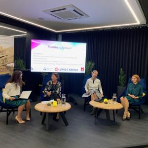 Aleksandra Pawlina-Janyga (MTP), Danuta Pawlik (Schattdecor), Sylwia Oleńska (SGGW), Anna Dzierżanowska (Halupczok)