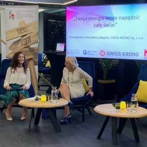 Aleksandra Pawlina-Janyga (MTP), Maria Wegner (Swiss Krono)