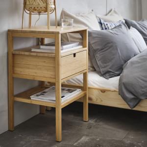 Nordkisa - stolik nocny. Fot. IKEA