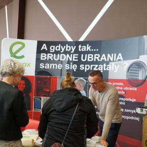 Studio Dobrych Rozwiązań w Bydgoszczy: stoisko firmy Ecomax.