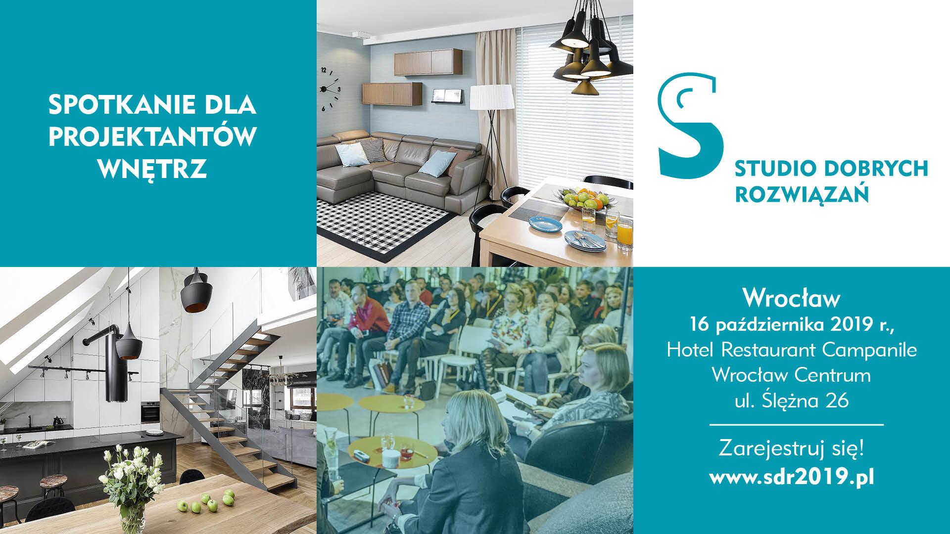 Studio Dobrych Rozwiązań we Wrocławiu - 16 października 2019.